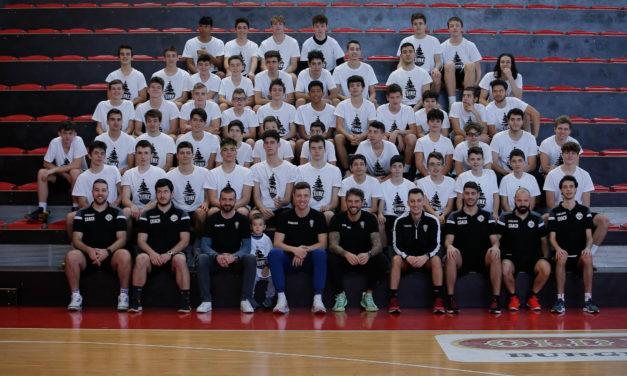 """""""Volta Xmas Workout"""", allenamento completo di basket per giovani promettenti"""
