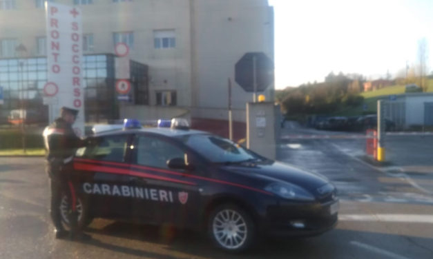 Crea il panico al Pronto soccorso, un 26enne arrestato dai carabinieri