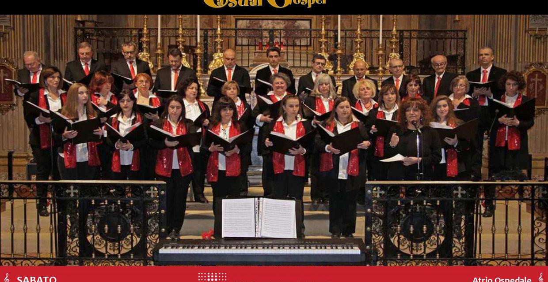 Concerto di buone feste del coro Casual Gospel all'ospedale Nuovo