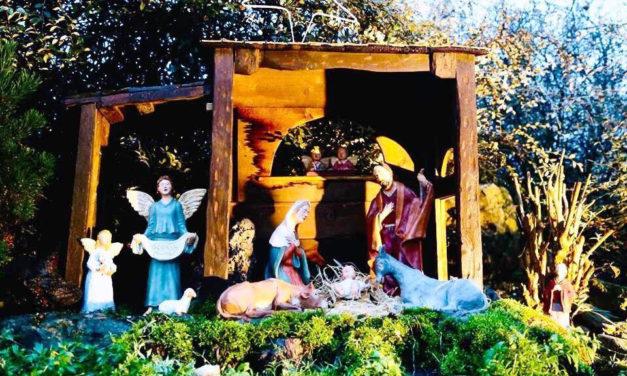 Castèlanadèl, sabato 14 inaugurazione del presepe al Giardino degli Angeli
