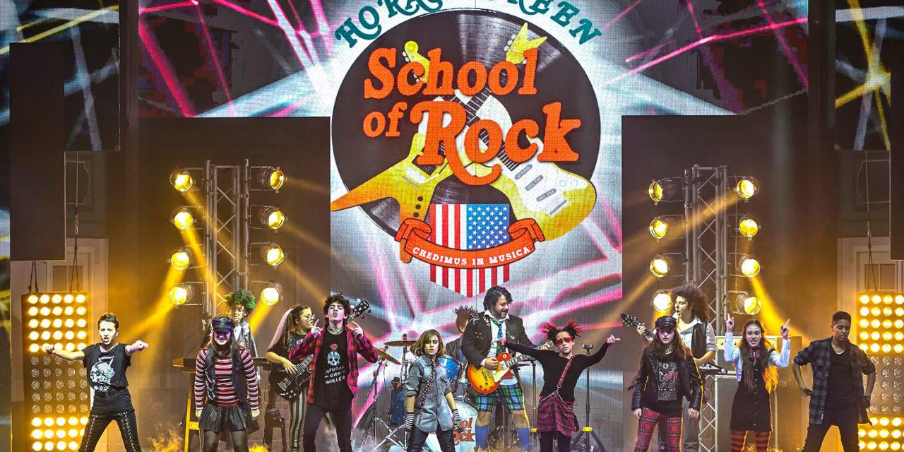 Il musical School of Rock dal 3 gennaio allo Stignani, ecco le prevendite