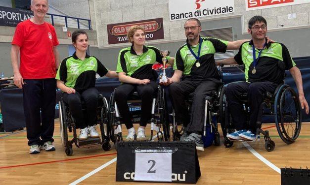 I campioni del tennis tavolo paralimpico si riuniscono a Montecatone