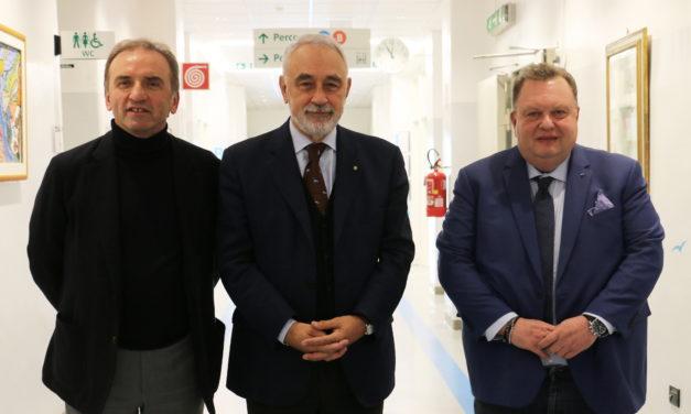 """Il Commissario Izzo a Montecatone: """"L'Istituto ha potenzialità in programmi di ricerca internazionali"""""""