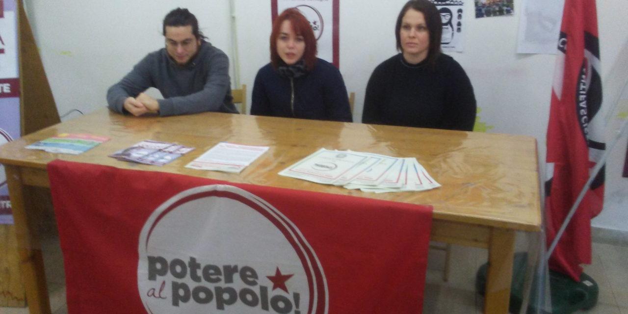 """La candidata di Potere al Popolo Collot: """"Pd e Lega simili su tante cose"""""""