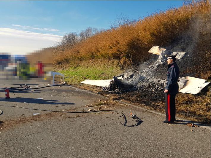 Morto il giovane pilota castellano caduto da un aereo ultraleggero