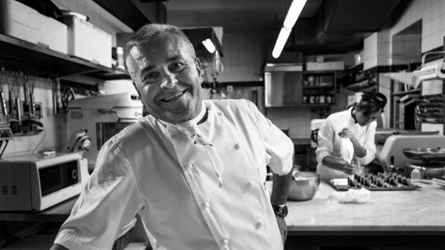 Il libro dello chef Valentino sarà presentato al Grand Hotel Majestic