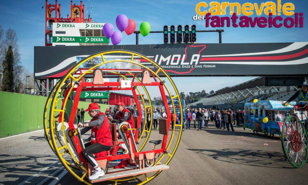 Fantaveicoli, a Imola il carnevale più pazzo del mondo