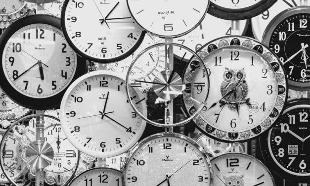 Il tempo, vero padrone dell'era moderna