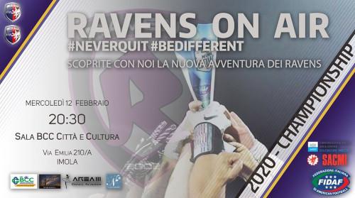 """Presentazione dei """"Ravens Imola football americano"""""""