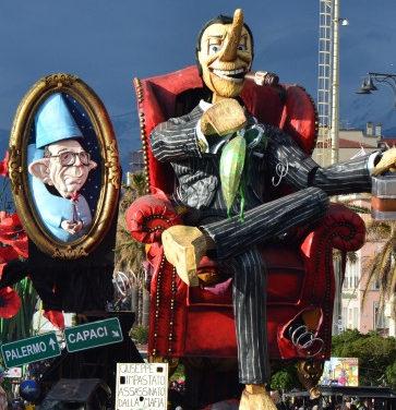 Carnevale di Viareggio, l'ultimo Corso mascherato