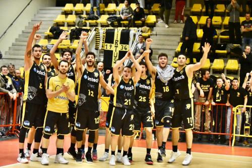 Basket serie C Gold, la Virtus Imola vice il derby con l'Olimpia Castello