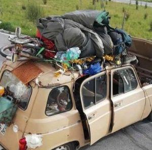 r4 macchina casa viaggiante