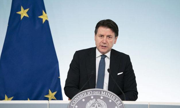 Coronavirus: Italia serranda abbassata, il video del Presidente Conte