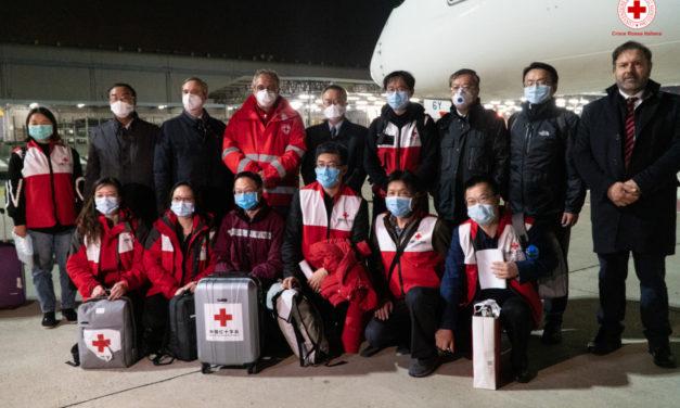 Coronavirus: in arrivo aiuti dalla Croce rossa cinese