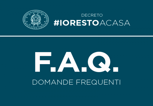 Coronavirus: decreto #IoRestoaCasa, le domande frequenti
