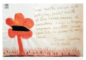 L'arte non si ferma: inaugurata a Faenza la mostra su Tonino Guerra