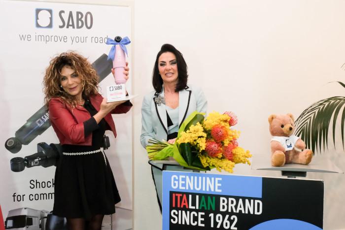 Il Sabo Rosa all'imolese Stefania Bartolini, camionista dell'anno 2020