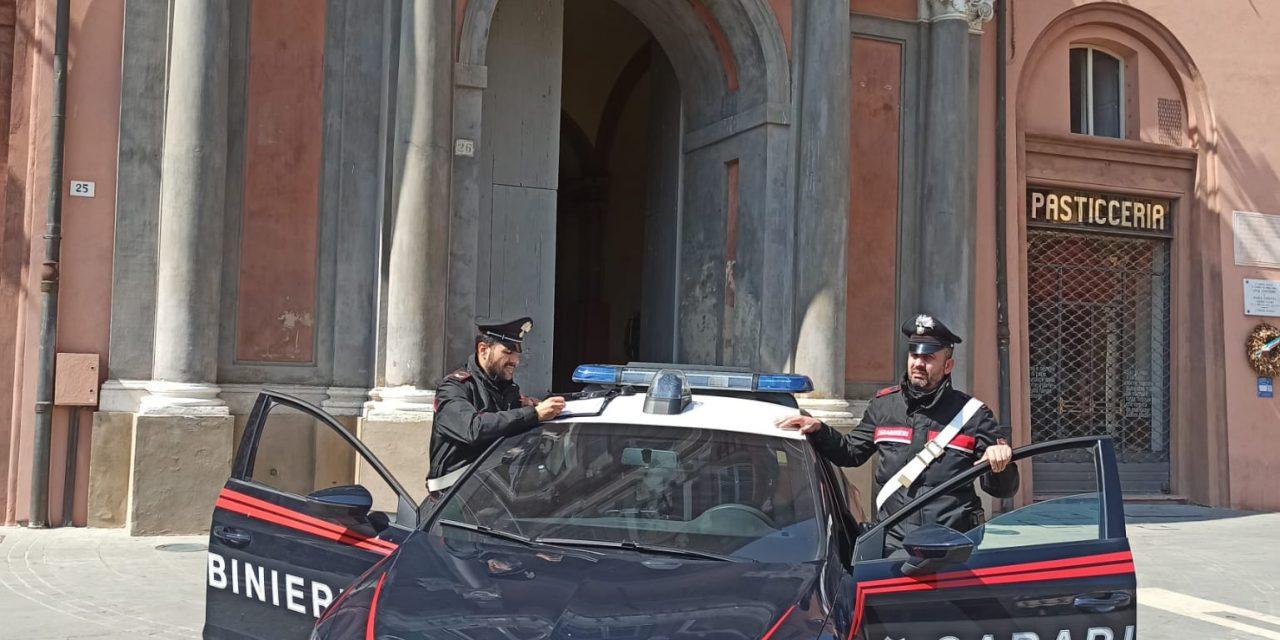 Tre giovani trovati con cocaina, denunciati per spaccio dai carabinieri