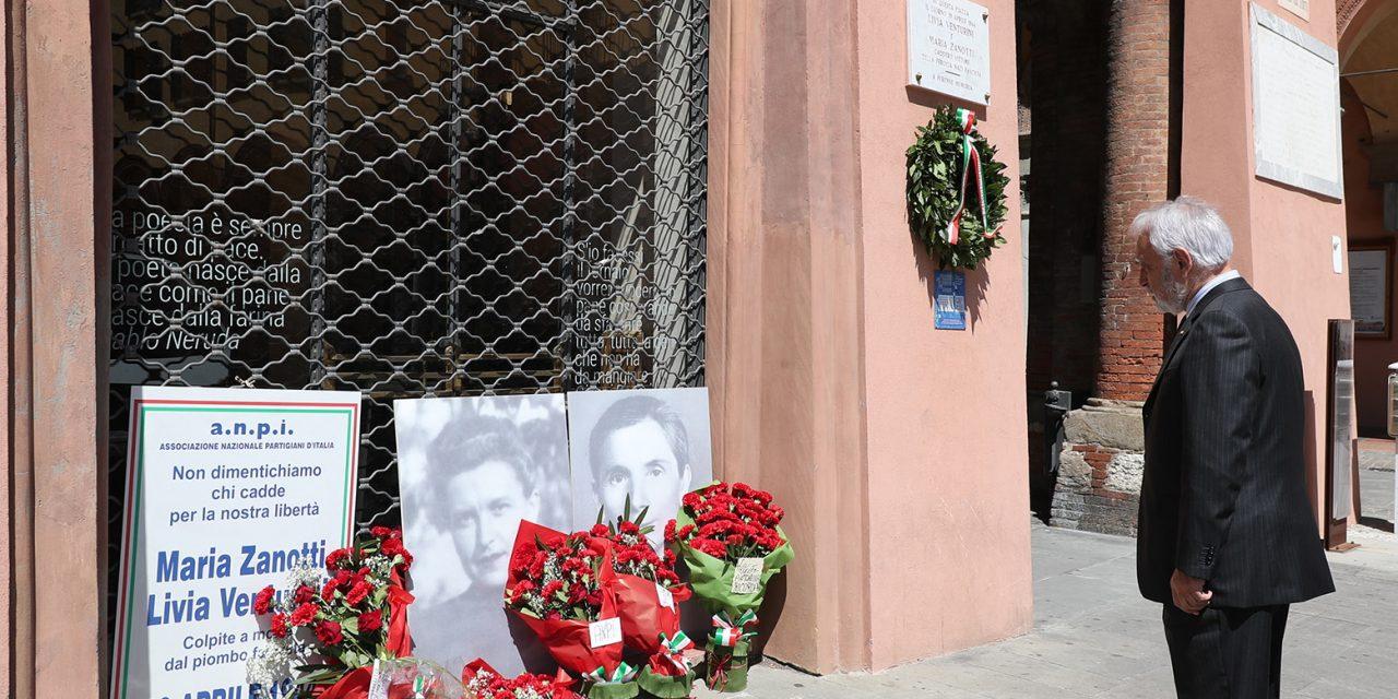 Liberazione, il ricordo dell'assassinio di Maria Zanotti e Livia Venturini
