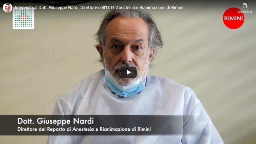Intervista al Dott. Giuseppe Nardi, Direttore dell'U. O. Anestesia e Rianimazione di Rimini