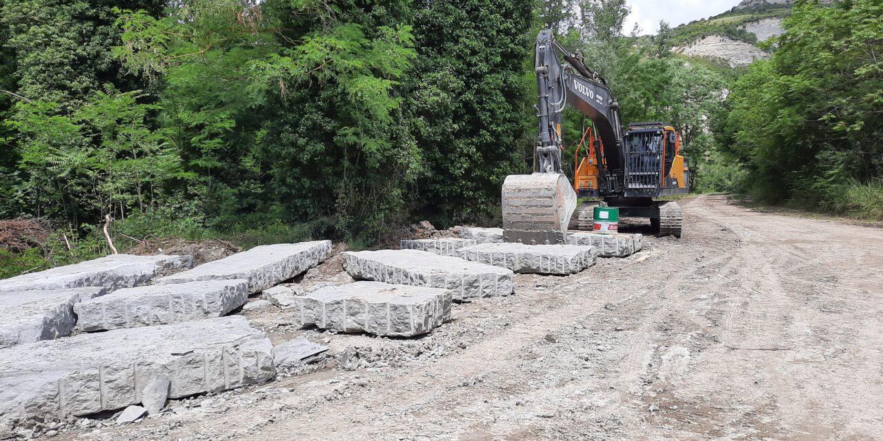 Ciclovia, Area Blu ferma i lavori nel Santerno