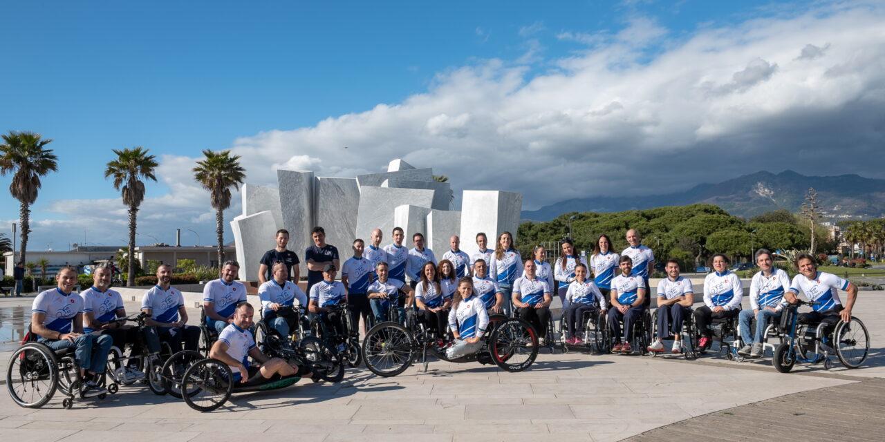 La grande staffetta di atleti paralimpici farà tappa all'autodromo