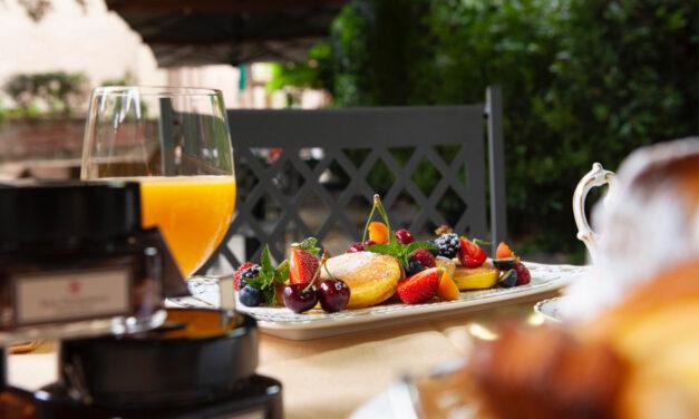 """San Domenico di Imola, 50 anni di grande cucina e ora le """"colazioni in giardino"""""""