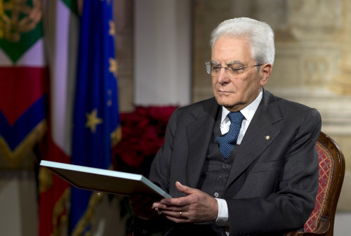 """Mattarella: """"Sono fiero del mio Paese"""""""