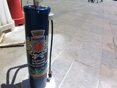 Faenza, nuove postazioni per biciclette grazie a La Bcc