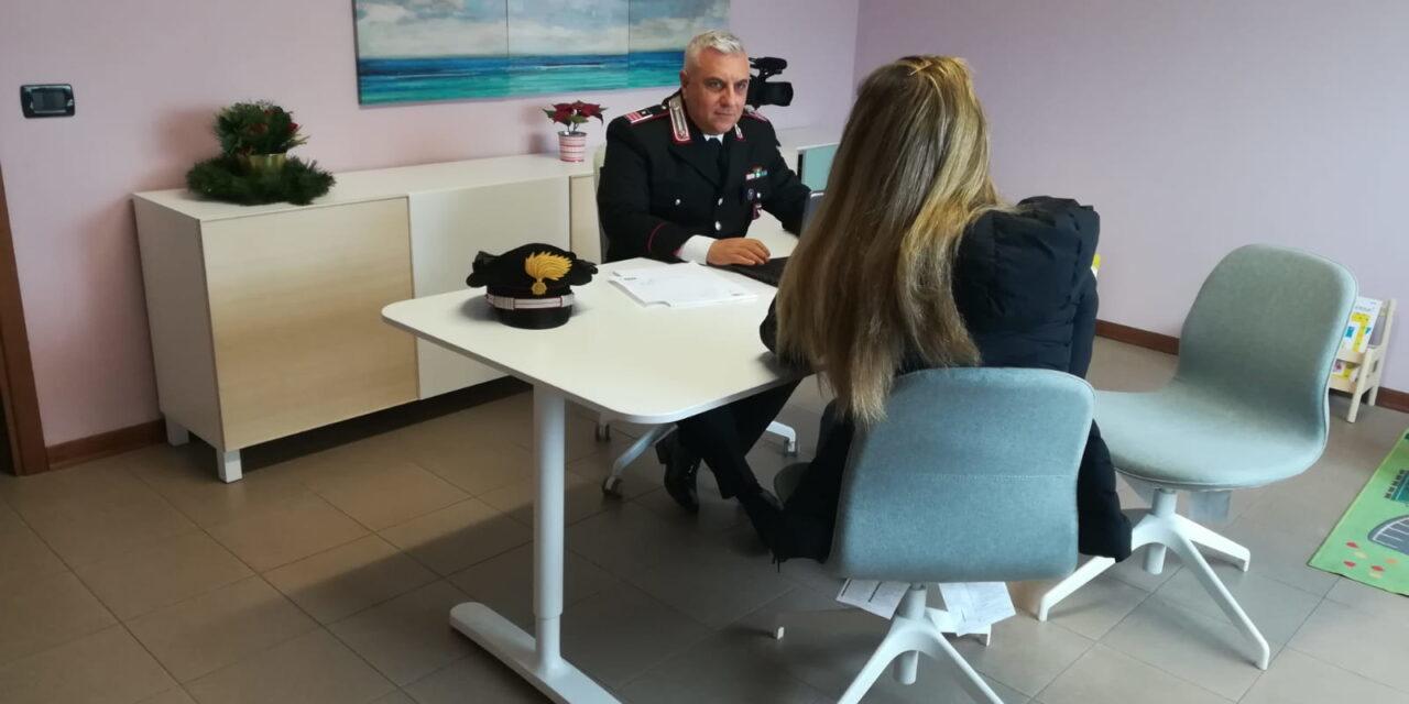 Ex marito prende a pugni e calci l'ex moglie, arrestato dai carabinieri
