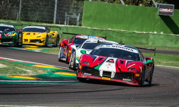 Autodromo, week-end di prove e gare del Ferrari Challenge Europe