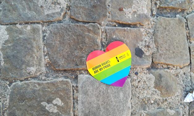 L'arcobaleno pride a Imola