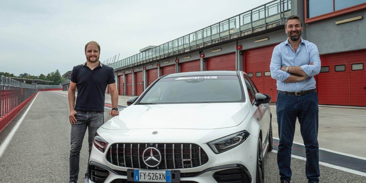 Bottas, in vista del Gp di F1, fa una visita a sorpresa all'autodromo