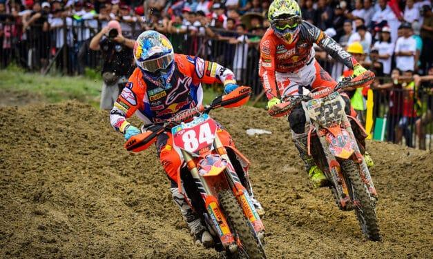 Tre gare del mondiale motocross al Monte Coralli di Faenza