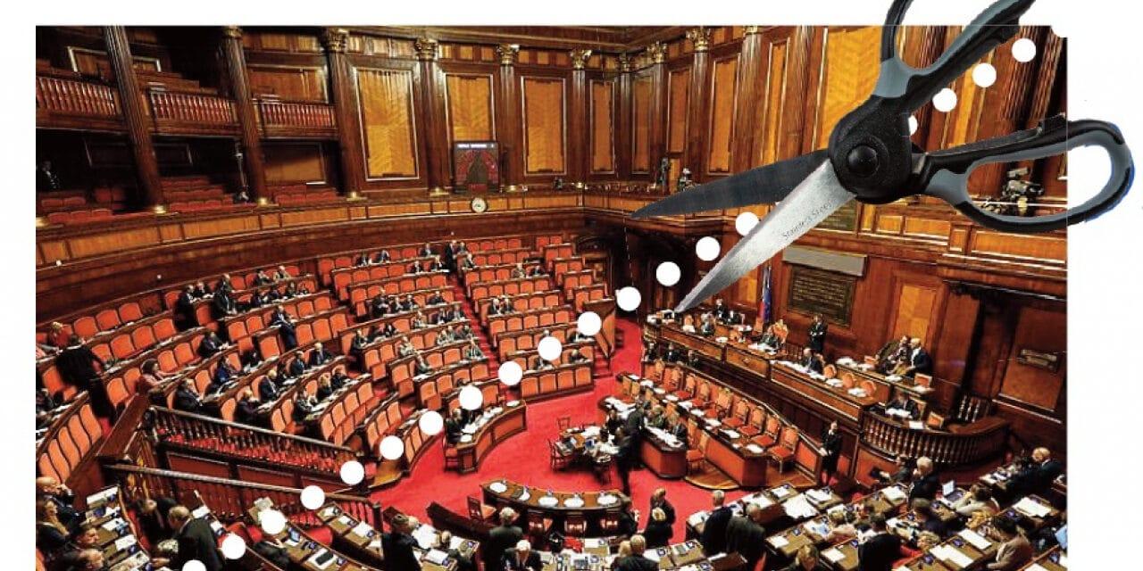 Referendum numero parlamentari, verso una netta vittoria dei SI'
