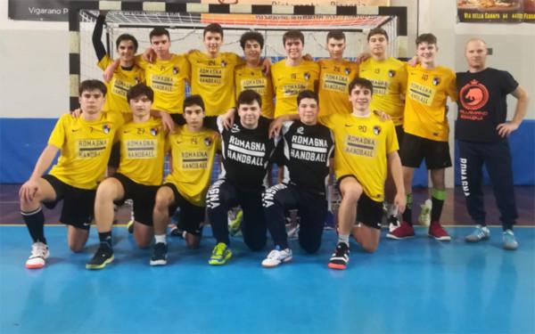 Handball, nazionale under 16: convocati tre ragazzi della Pallamano Romagna