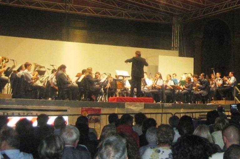 Concerto del Corpo Bandistico all'Arena con brani di Morricone