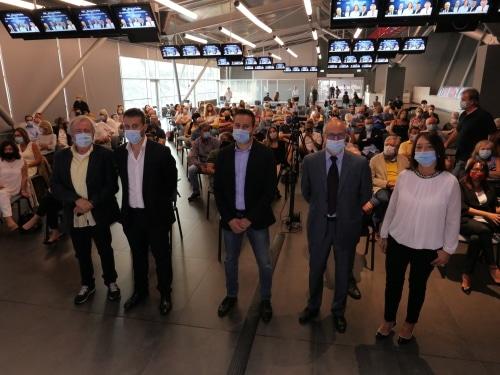I cinque candidati a sindaco fanno l'appello finale all'autodromo