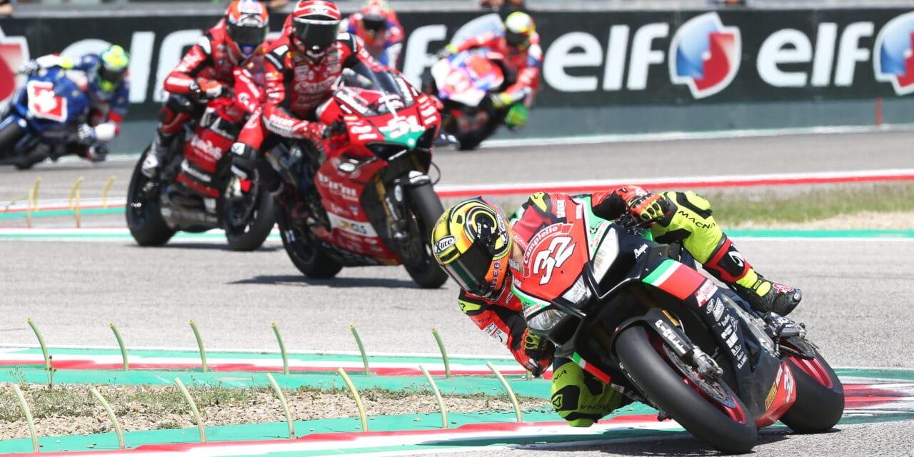 Week-end per le moto col Campionato italiano velocità all'autodromo