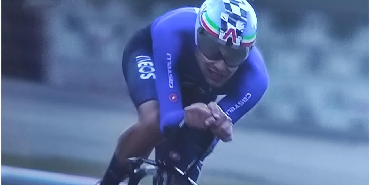 Mondiali di ciclismo Imola: capolavoro Ganna, è oro nella cronometro