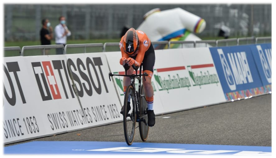 Mondiali di ciclismo: la crono va all'olandese Van der Breggen