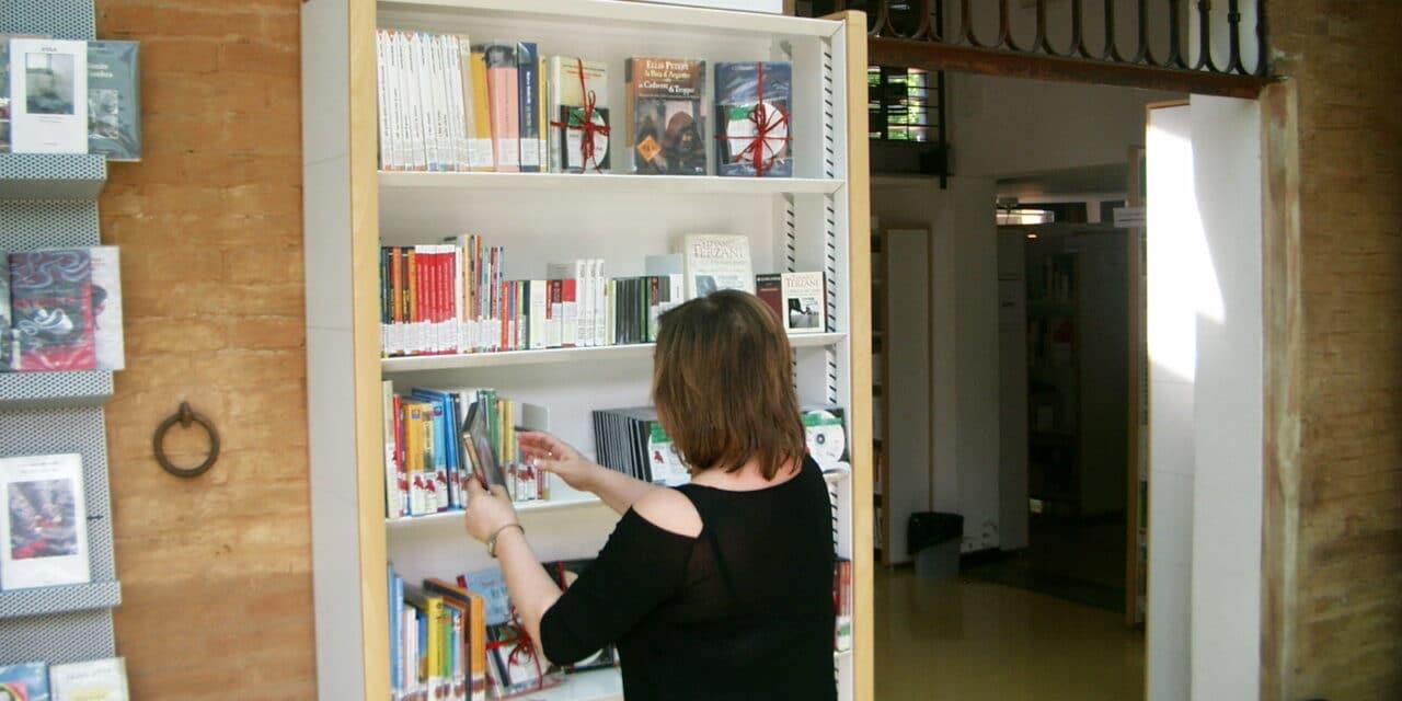 Grazie ai fondi ministeriali le biblioteche di Castello raddoppiano i libri