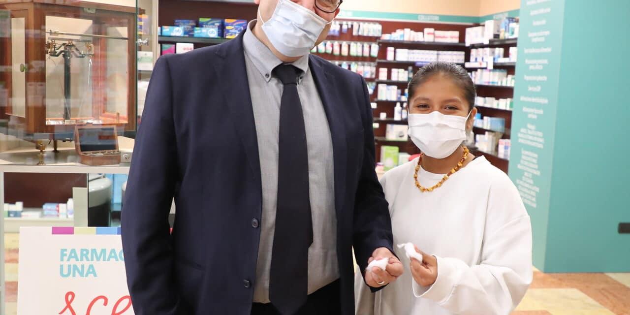 Test sierologici rapidi e gratuiti eseguiti in farmacia, Castellari dà l'esempio