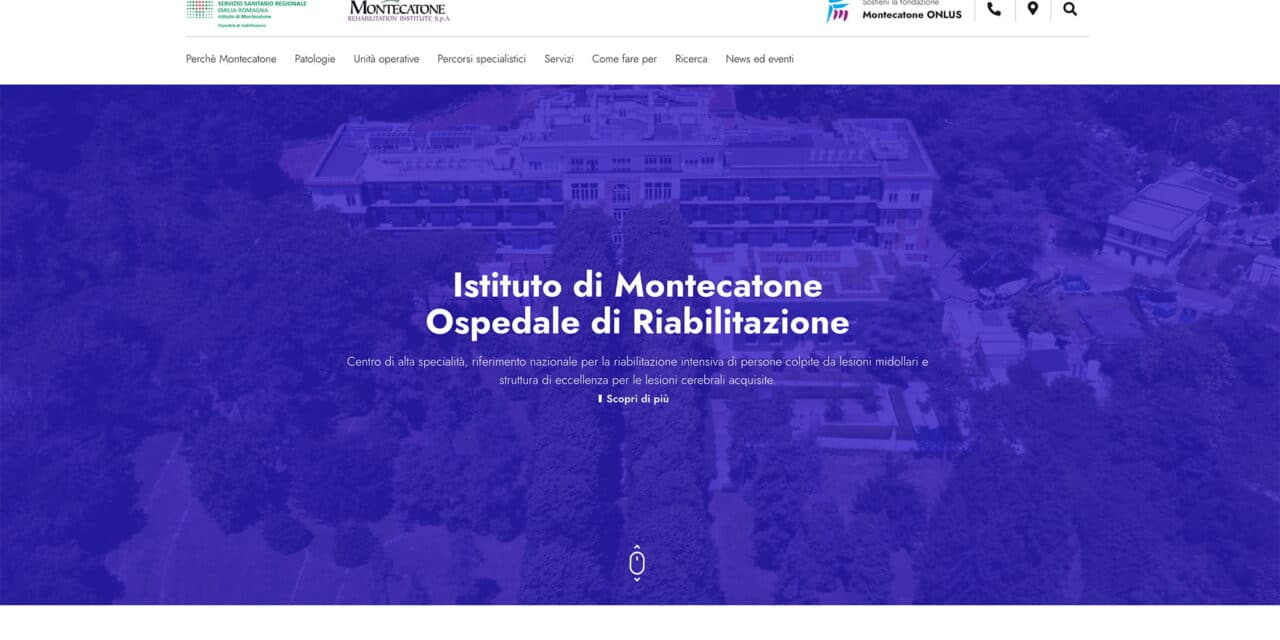 Nuovo sito web per il Montecatone Rehabilitation Institute