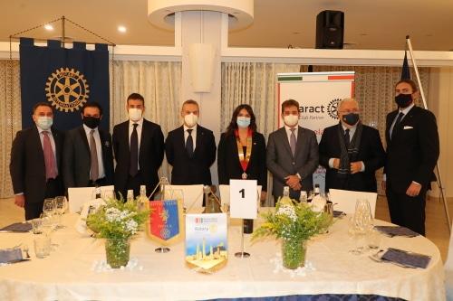 Il Rotaract spegne 35 candeline alla presenza del sindaco Panieri