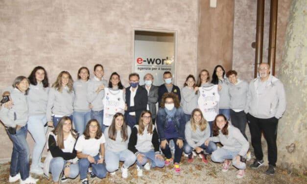 Faenza, presentata la squadra di basket femminile E-work