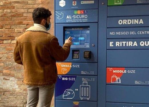 """Faenza, installato il nuovo locker """"Al sicuro"""" presso gli ex Salesiani"""