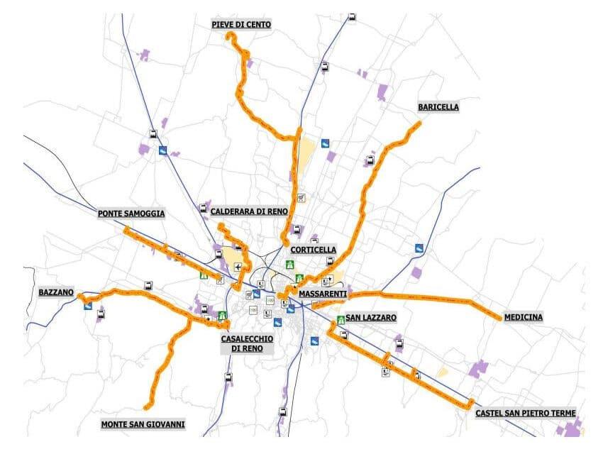 """Metro bus Medicina – Bologna: Legambiente, """"Sarebbe questa la mobilità sostenibile?"""""""