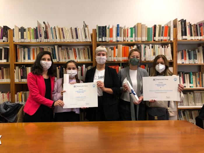 Premiati gli studenti della borsa di studio Roberto Nuti