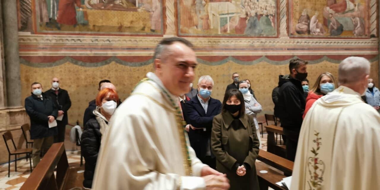 """""""Un tuffo in mare aperto"""", così Padre Mauro Gambetti è diventato Vescovo"""